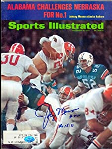 Buy Johnny Musso autographed Sports Illustrated Magazine (Alabama) by Autograph Warehouse