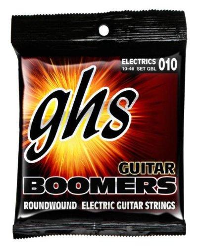 Ghs Strings Electric Guitar Boomer Set (Light Nickel Steel)