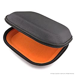 SONY MDR-XB400, XB600, XB610, ZX600, V55 Headphone Hard Carrying Case / Travel Bag with Space for Cable, AMP, Parts and Accessories