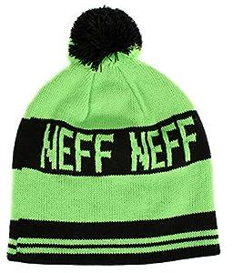 Neff Men's Classic Beanie - Green/Black, One Size