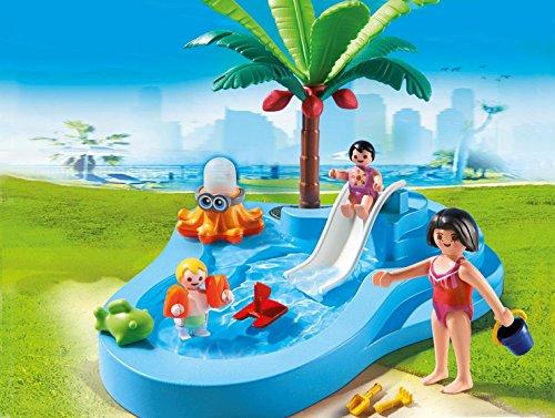 Playmobil piscina para ni os con beb 66730 for Pulpo para piscina