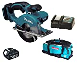 Makita 18V LXT BCS550 BCS550Z BCS550Rfe Circular Saw, BL1830 Battery, DC18RC Charger And DK18027 Bag