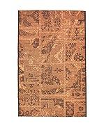 Homemania Alfombra Vetus Negro/Teja 110 x 170 cm