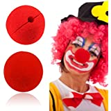 Alcoa Prime 10 Pcs/lot Wedding Decoration Party Sponge Ball Red Clown Magic Nose For Halloween Party Masquerade...