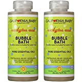 California Baby Bubble Bath Aromatherapy, 13 oz. Pack of 2 (Eucalyptus ease (for tranquil relief))