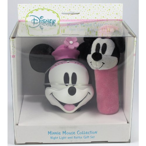 Disney - Minnie Mouse Collection Night Light and Rattle - 1