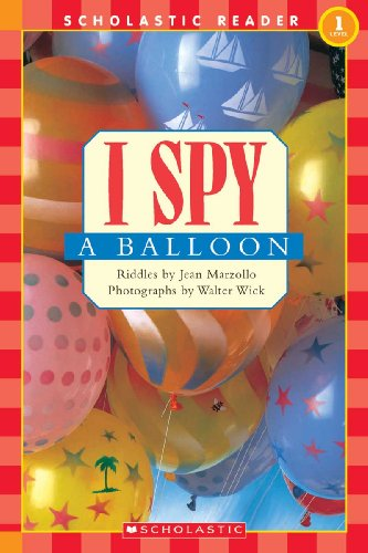 I Spy A Balloon (Turtleback School & Library Binding Edition) (I Spy (Prebound))