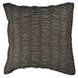 AANANTAA Rouched Two Tone Designer Cushion Covers (Green/Red)