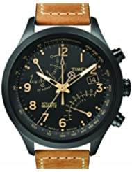 Timex Intelligent Quartz Racing Chrono Chronograph Black Dial Men's Watch T2N700