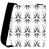 Snoogg Fingers Pattern Designer Womens Carry Around Cross Body Tote Handbag Sling Bags