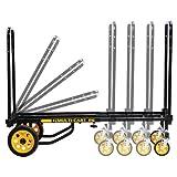 Rock N Roller R6RT Multi-Cart Equipment Cart with R Trac Wheels