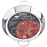 Chefs Secret® 14 inch, 4-in-1 Frypan - Grill Pan - Paella Pan & Griddle