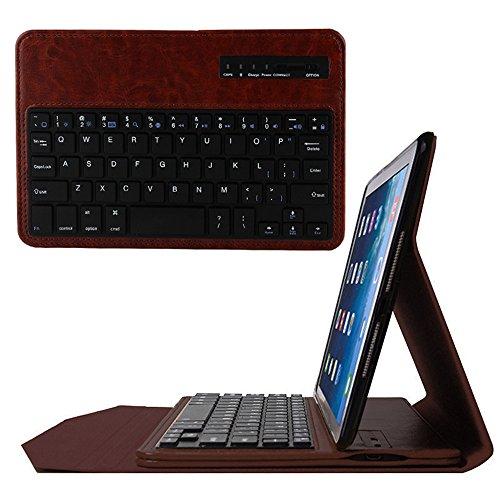 ikodoo 超薄型  ipad mini/mini2/mini3専用ワイヤレスBluetooth3.0キーボード、スマートカバー、スタンド機能付き Mobile Bluetooth keyboard for ipad mini/mini2/mini3 (パーム) [並行輸入品]