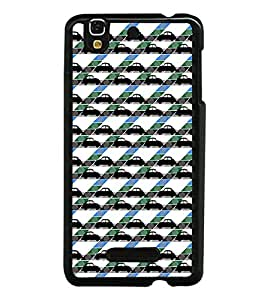 Collection of Cars Back Case Cover for YU YUREKA