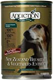 Addiction New Zealand Brushtail & Vegetable,s Grain-Free Canned Dog Food (12/13.8 Ounce Cans)