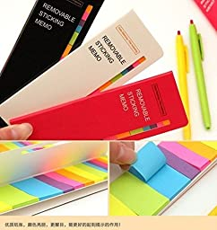 Candy Color Sticker Post-it Bookmark Marker Memo Flags Index Tab Sticky Notes Post It