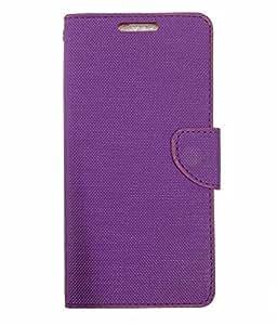 Ceffon Flip Cover for Oppo A37 Flip Cover Case - Purple