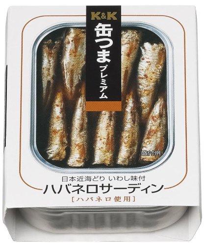 缶つまプレミアム ハバネロサーディン 105g