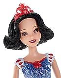 Princesses Disney - Cfb77 - Poupée Mannequin - Blanche Neige - Robe Scintillante