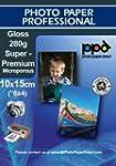 Inkjet Photo Gloss Cards, SUPER PREMI...