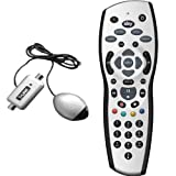Sky + Plus HD REV 9 Remote Control with Silver Magic Eye TV LINK