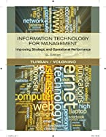 Information Technology for Management: Improving Strategic and Operational Performance, 8th Edition ebook download