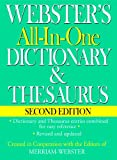 Websters All-In-One Dictionary & Thesaurus, Second Edition