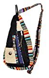 Search : Mandala Tibetan Shop Bohemian Hemp Sling Backpack