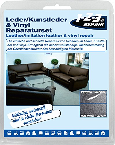 123repair diy lederreparatur set i leder vinyl und. Black Bedroom Furniture Sets. Home Design Ideas