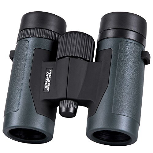 Polaris-Optics-Pioneer-8X32-Compact-Bird-Watching-Binoculars-Wide-View-for-Hours-of-Bright-Clear-Observation-Lightweight-and-Durable-Great-for-Outdoor-Sports-Games-and-Concerts