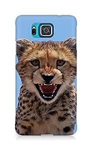 Amez designer printed 3d premium high quality back case cover for Samsung Galaxy Alpha (Little Leopard)