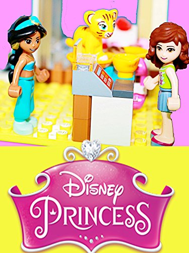 Watch Disney Princess Jasmine Visits Lego Friends Bakery Shop