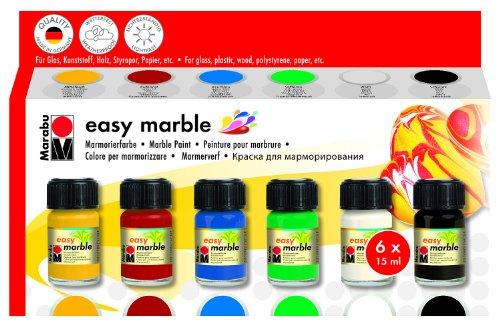 Marabu-130500087-Easy-marble-Starter-Set
