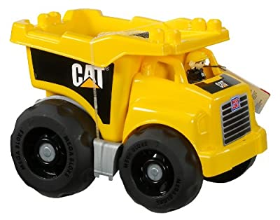 Mega Bloks Caterpillar Large Dump Truck from Mega Bloks