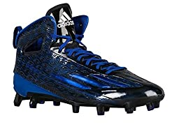 Adidas Adizero 5Star 4.0 Mens Football Cleats 10.5 Black-Royal-White