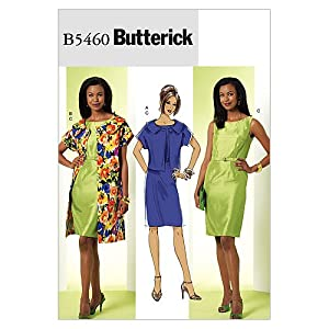 Butterick Patterns B5460 Misses'/Misses' Petite Jacket and Dress, Size AA (6-8-10-12)