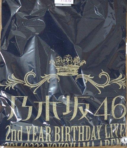 乃木坂46 Tシャツ(Lサイズ) 横浜アリーナ ネイビー 2nd YEAR BIRTHDAY LIVE【公式】