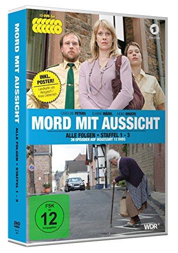 Mord mit Aussicht - Staffel 1-3 (12 DVDs) inkl. Landkarte von Hengasch/Kreis Liebernich als A2-Poster