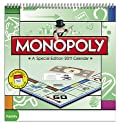 Monopoly Special Edition 2011 Wall Calendar