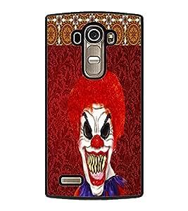 PRINTVISA Pattern Joker Premium Metallic Insert Back Case Cover for LG G4 - D5729