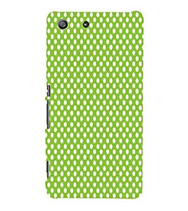 Light Green Zero 3D Hard Polycarbonate Designer Back Case Cover for Sony Xperia M5 Dual E5633 E5643 E5663 :: Sony Xperia M5 E5603 E5606 E5653