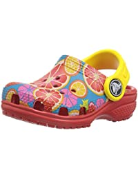 Crocs Classic Fruit Girls Clog In Red