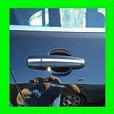 1986-1991 MERCEDES BENZ 560SEC 560 SEC CHROME TRIM FOR DOOR HANDLES 4PC 1987 1988 1989 1990 87 88 89 90 91 MERCEDES-BENZ W126