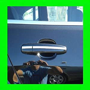 1984-1987 AUDI 4000 / 4000 QUATTRO CHROME TRIM FOR DOOR HANDLES 4PC 1985 1986 84 85 86 87