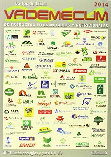 VADEMECUM DE PRODUCTOS FITOSANITARIOS Y NUTRICIONALES 2014  descarga pdf epub mobi fb2