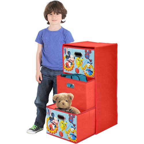Kids Storage Bins Mickey Mouse