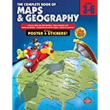 The Complete Book of Maps and Geography, Grades 3 - 6 ~ American Education...