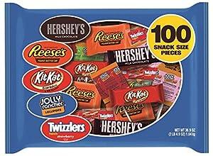 Hershey's Halloween Snack Size Assortment, 100-Piece