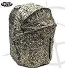 KillZone Hunting Blind 2 Man Chair Blind, Turkey and Deer Ground Blind with Zero Detect Camo
