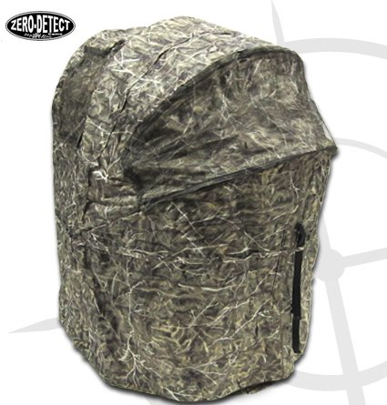 KillZone Hunting Blind 2 Man Chair Blind, Turkey and Deer Ground Blind with Zero Detect Camo 5F
